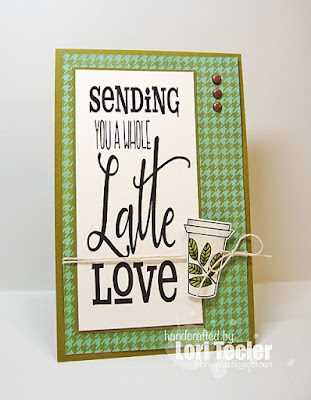 A Whole Latte Love card-designed by Lori Tecler/Inking Aloud-images from Verve Stamps
