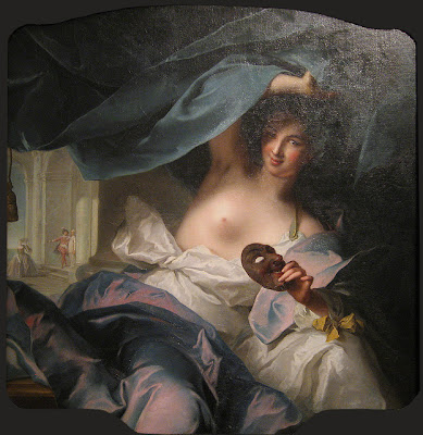 Jean-Marc Nattier Muse of Comedy one objectivist's art object of the day