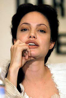 Angelina Jolie Short Hairstyle