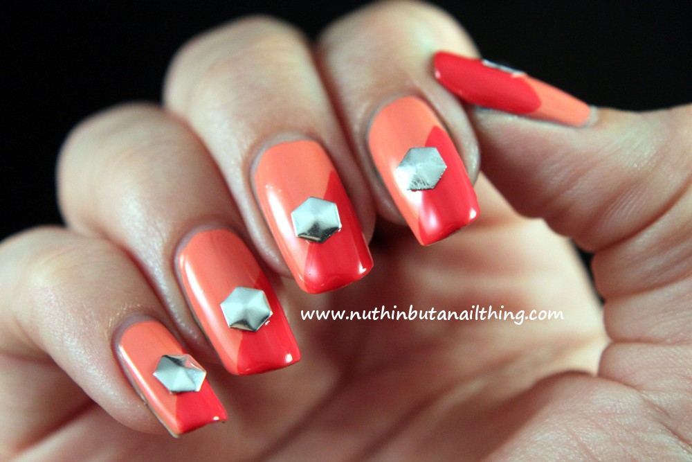 nuthin\' but a nail thing: Review : KKCenterHK Hexagonal Studs