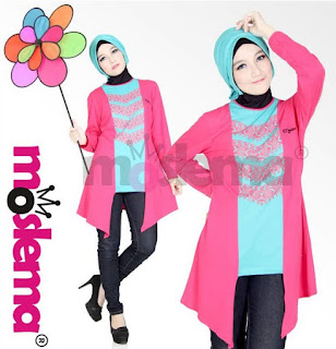 Contoh Baju Muslim Kaos Lebaran untuk Remaja