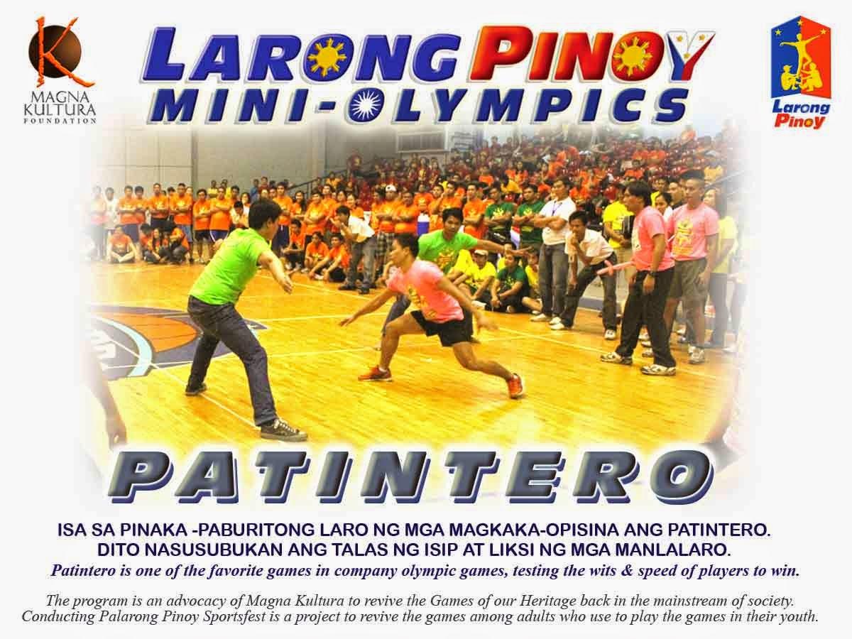 mga larong pinoy