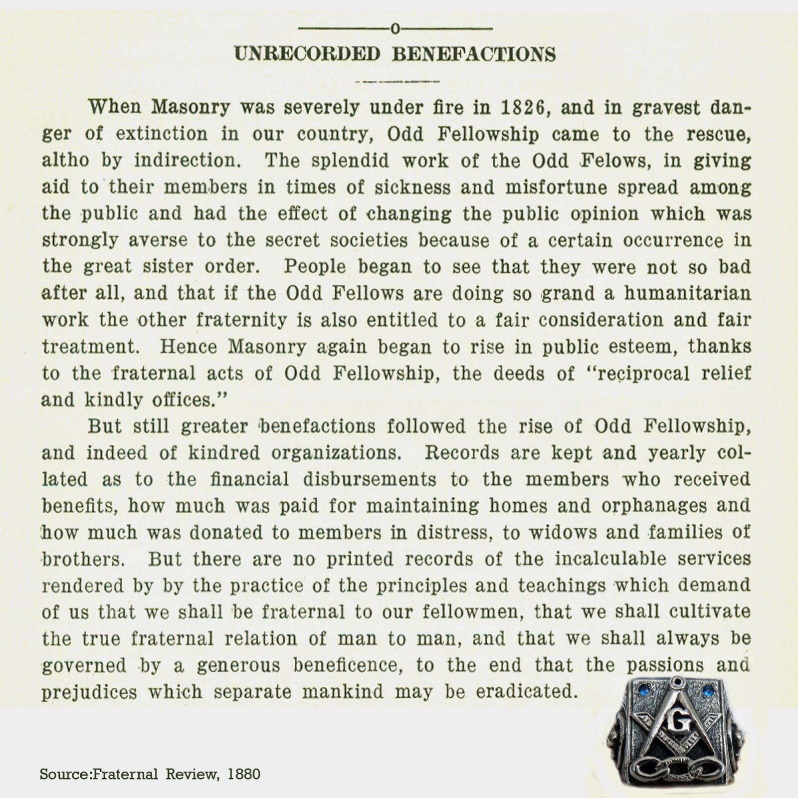 Oddfellows Odd Fellows And Freemasons Dispelling Myths And