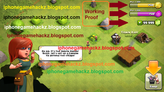 Clash Of Clans Hacks & Cheats V5.4.1 Specs & Features: