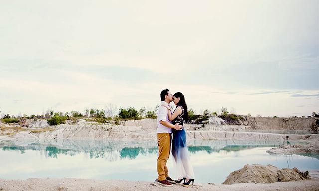 Danau Kaolin Untuk Pewedding