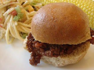 A bear in the kitchen food nanny sloppy joes food nanny sloppy joes this sloppy joes recipe is great the sloppy joe meat ends up tasting a little like bbq beef which i think is fantastic forumfinder Choice Image