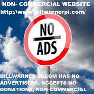 NON-COMMERCIAL WEBSITE NO ADS, NO REQUESTS FOR DONATIONS, NO SPONSORS pi bill warner sarasota