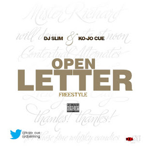 Download Dj Slim &amp; Ko-Jo Cue - Open letter Freestyle (Prod By Klu Monsta)