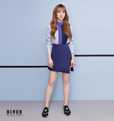 Red Velvet Irene for Black Martine Sitbons