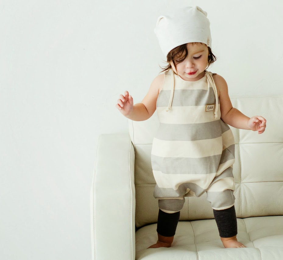 Baby/toddler jumpsuit by Kindred OAK for holiday collection 2014