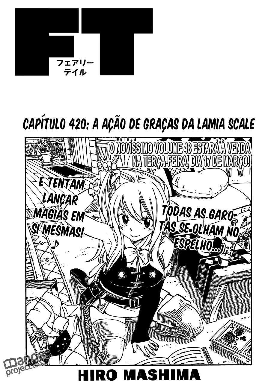 Fairy Tail 420 Mangá Português leitura online