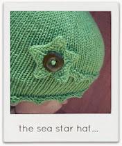 sea star hat...