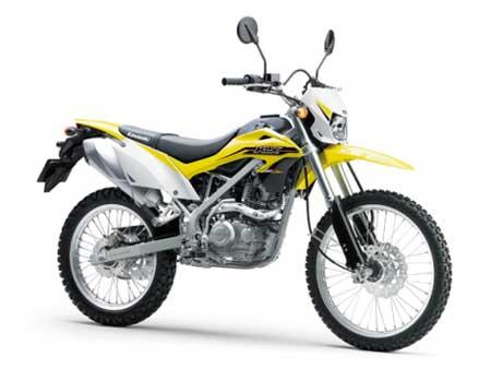 kawasaki klx150 BF kuning