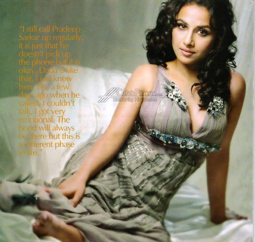 Hot boobs vidya balan