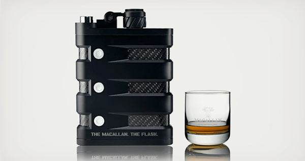 The Macallan x Oakley Flask