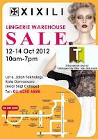 XiXiLi Lingerie Warehouse Sale 2012