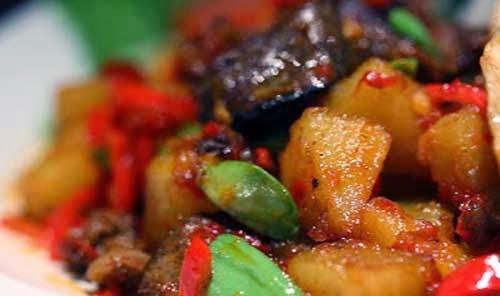 resep dan cara membuat sambal kentang hati sapi