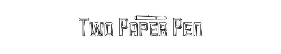 TWO PAPER PEN
