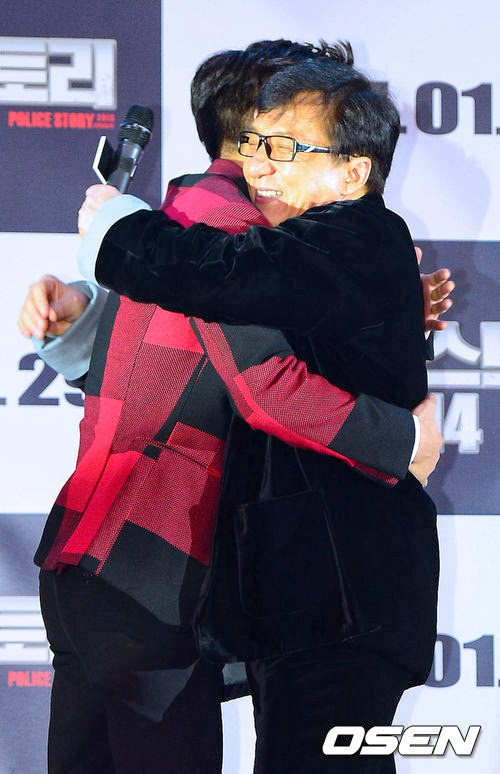 Siwon Receives A Surprise Kiss From Jackie Chan Daily K