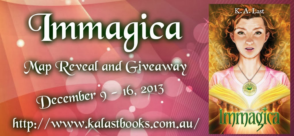 Immagica Map Reveal and Giveaway