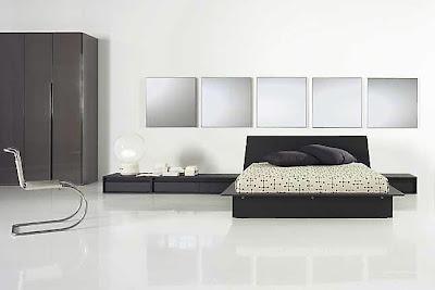На фото спальная кровать модели Modo от фабрики Tisettanta, дизайн Tisettanta Design Lab.