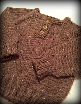 a simple baby pullover