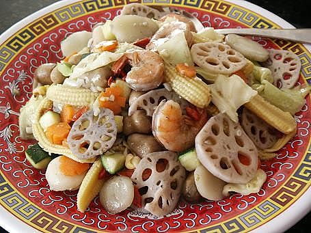 Little Corner Of Mine Stir Fried Mixed Veggies With Lotus Root