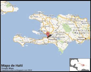 Mapa de Haití, Google Maps