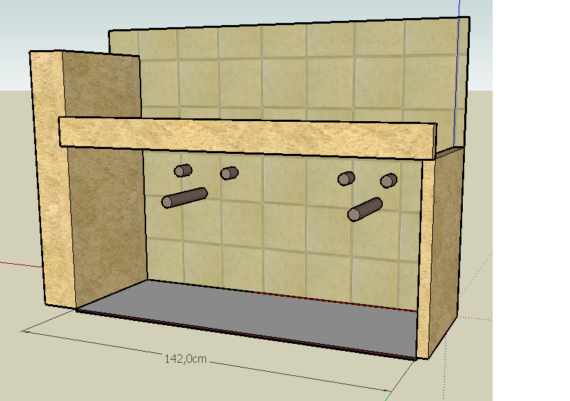 Como hacer tus muebles mueble cuarto de ba o tomando medidas - Como hacer mueble para bano ...