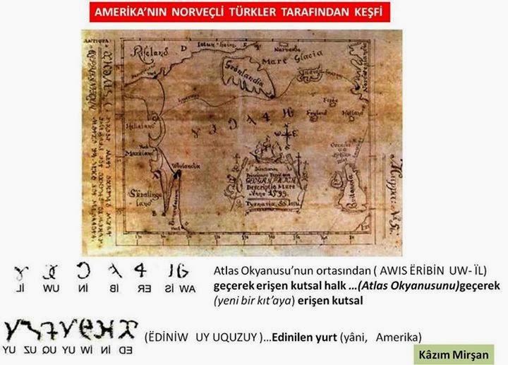 TÜRK DÜNYASI TARİH KÜLTÜR DERGİSİ Sayı- 242 Şubat (2007)'de -Amerika'nın Norveçli Türkler Tarafından Keşfi-