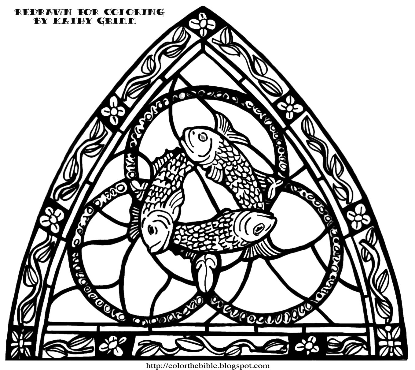 The Holy Trinity Description Of Coloring Page
