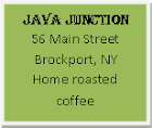Best cup of coffee in Brockport?