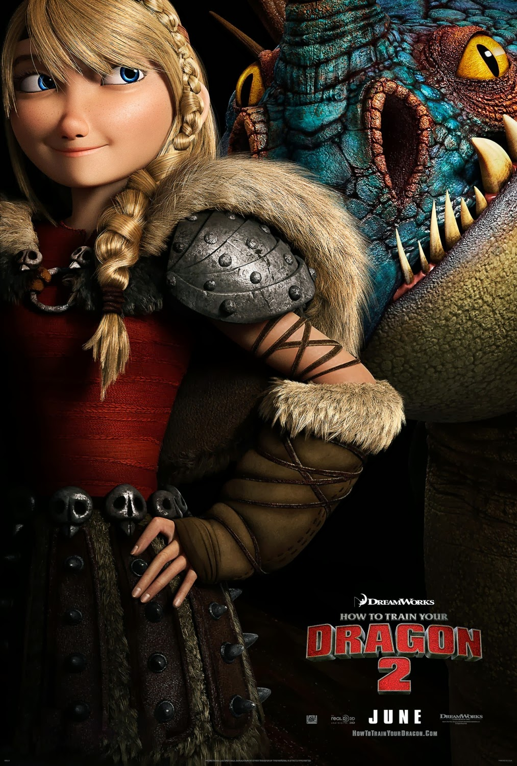 How to Train Your Dragon 2: Astrid and Stormfly Character ...