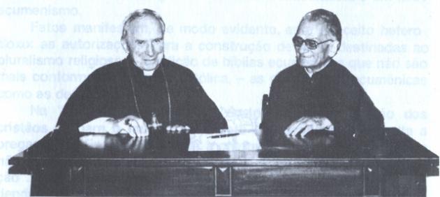Dom Lefevbre e Dom de Castro Mayer