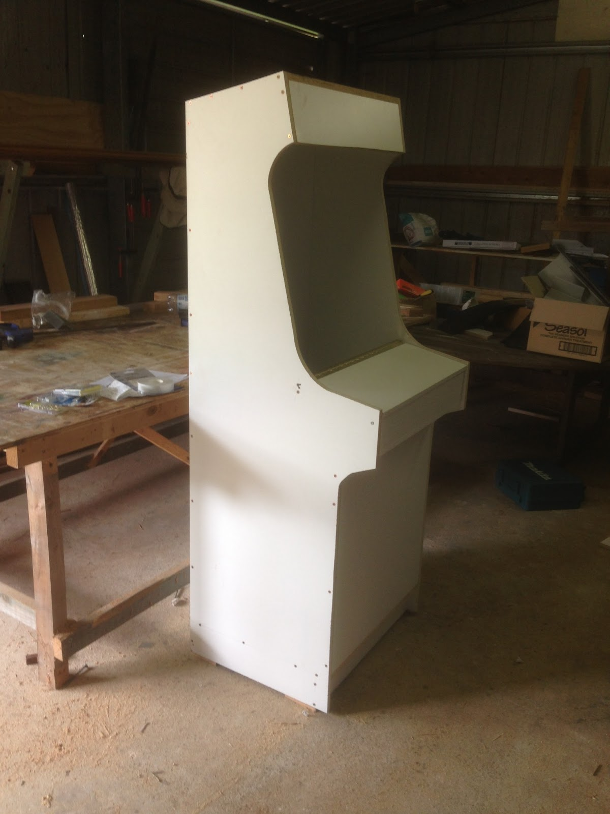 Hyperspin Arcade Cabinet Project
