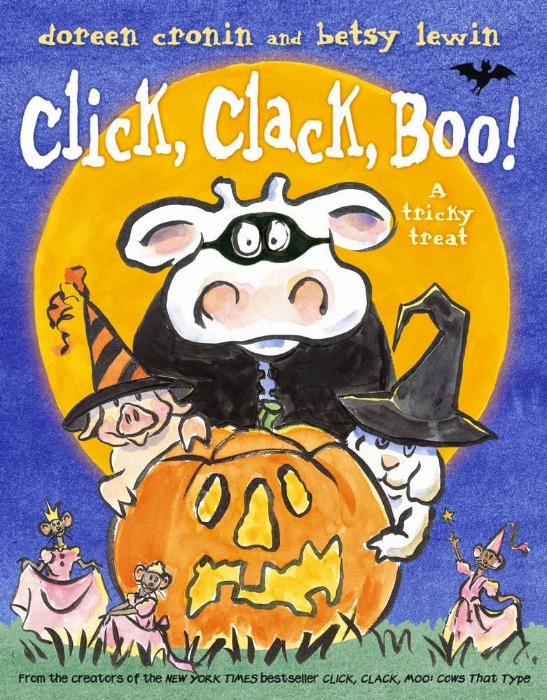 Children's Halloween activity to use with click, clack, boo