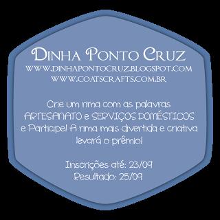 Concurso Cultural Dinha Ponto Cruz + Coats