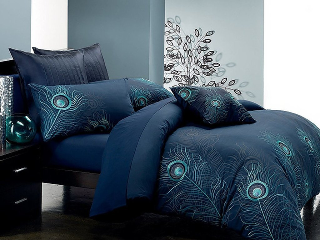 Peacock Bedroom Decor Total Fab Peacock Themed Peacock Colored Comforter And Bedding Sets