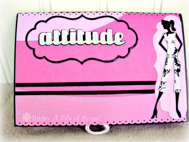 attitude scrapbook page