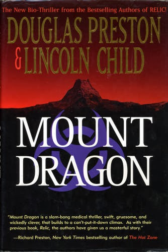 cover of Mount Dragon by Douglas Preston and Lincoln Child