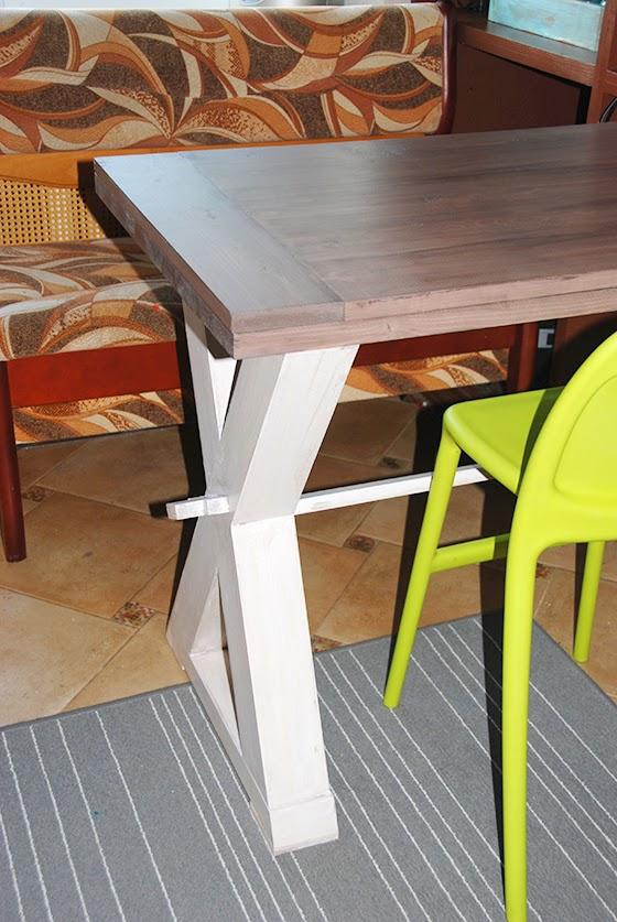 Обеденный стол из своими руками 288