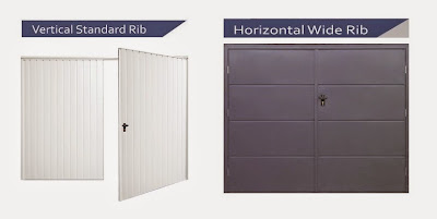 Side-hinged garage doors are available to view by clicking here
