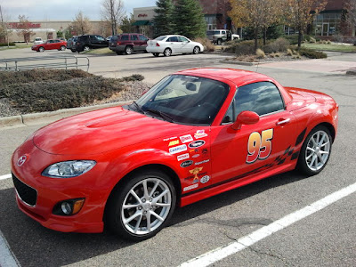 Lightning McQueen in real life