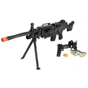 M249 Machine Gun Spring Airsoft 11 Bipod