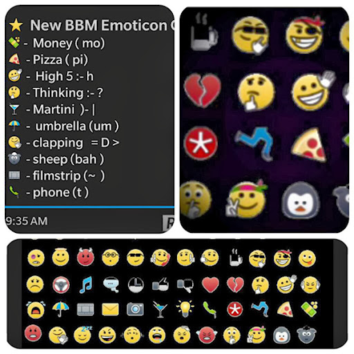 List of emoticons (emoticons)