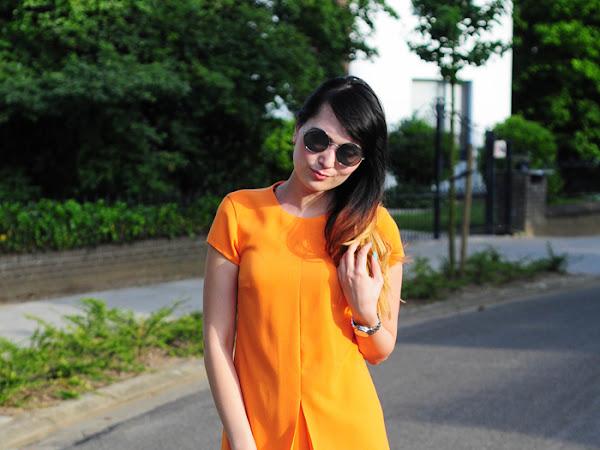 Tangerine dress