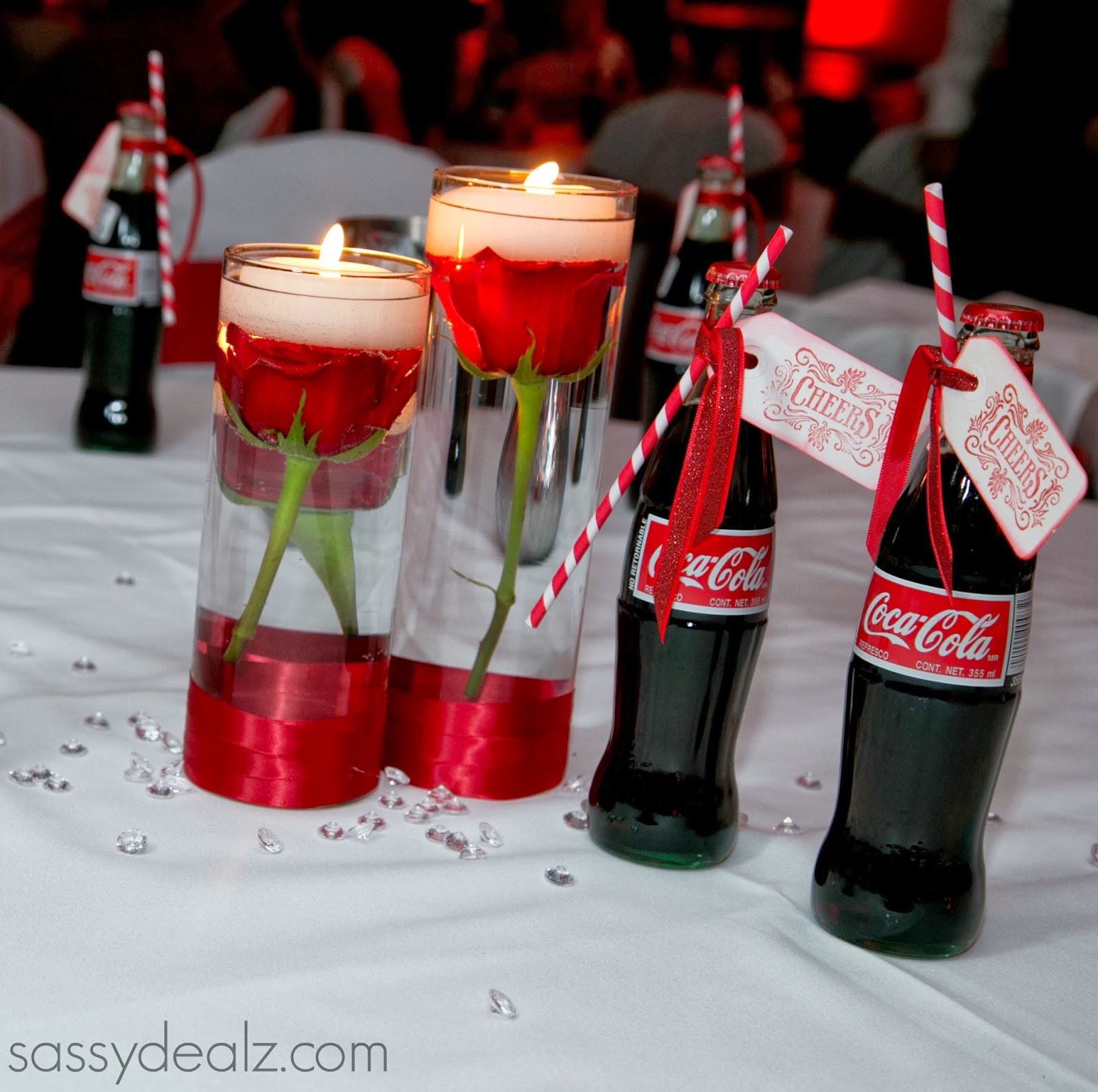 coca-cola bottle wedding favors