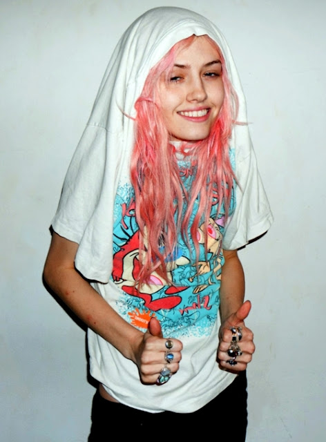 secret hipster pink hair