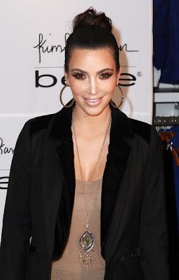 Kim Kardashian Gold Pendant