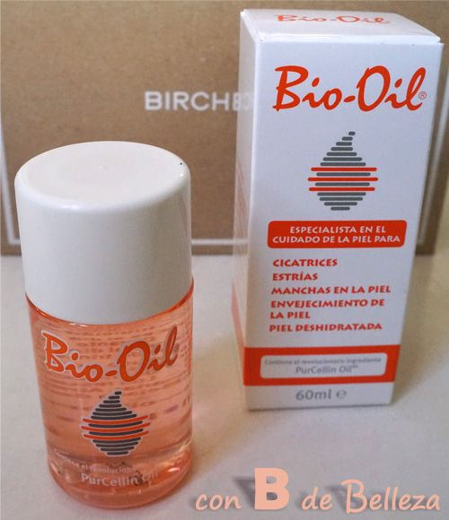 Bio oil cicatrices manchas estrías